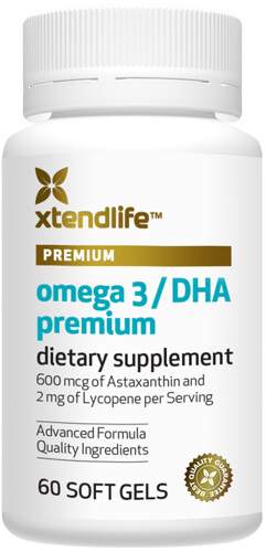 Image of Omega 3 Premium Bottle